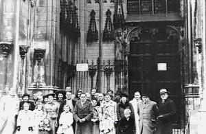 Afscheid emigranten Den Bosch