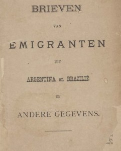 Brieven emigranten