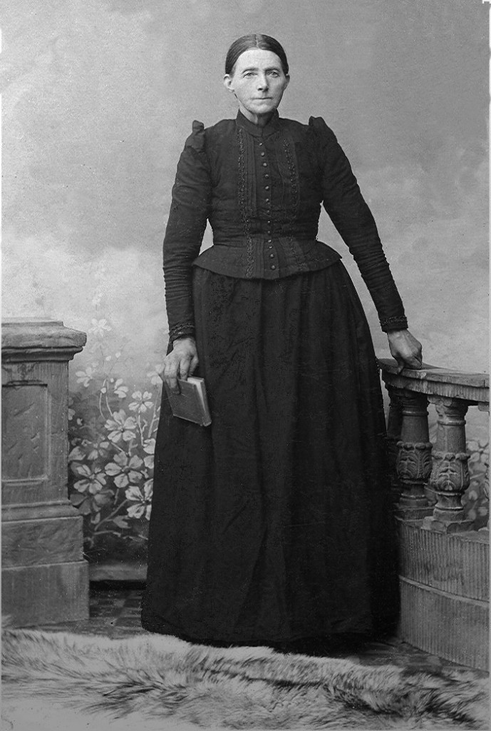 Rijna Dijk in 1906 op Ellis Island (New York)