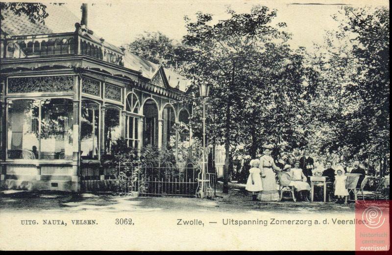 Uitspanning Zomerzorg. Foto: Historisch Centrum Overijssel